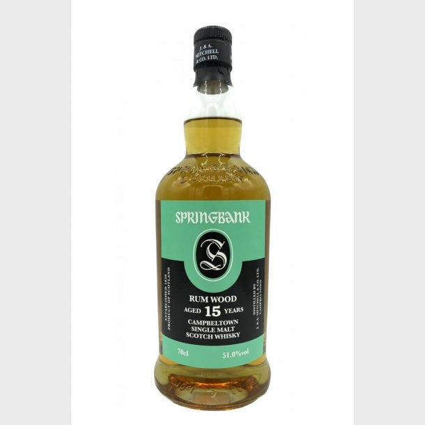 Springbank 15 years Rum Wood 2019 Edition