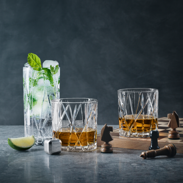Orrefors City Old Fashioned 4-pack