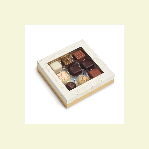 Selected Chocolates Gold 9 stk