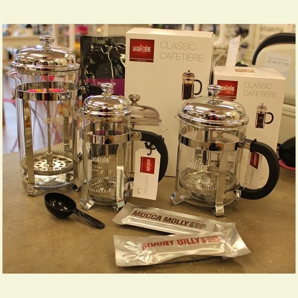 STEMPELKANDE - Classic Chrome - 4 cups