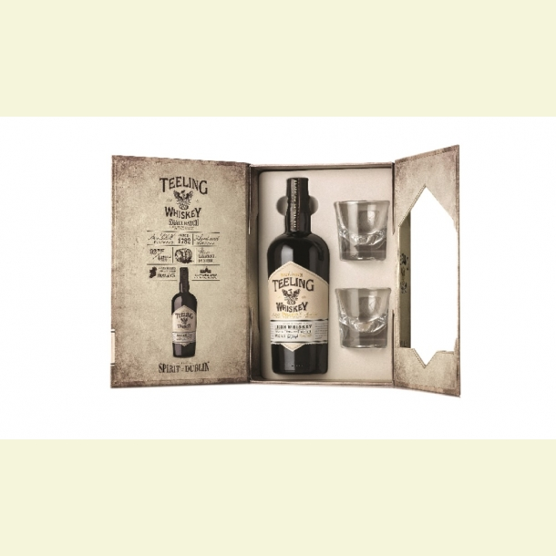 Teeling Small Batch Giftbox med 2 glas
