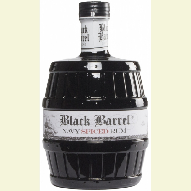 A.H. Riise Black Barrel Rum Navy Spiced Rum