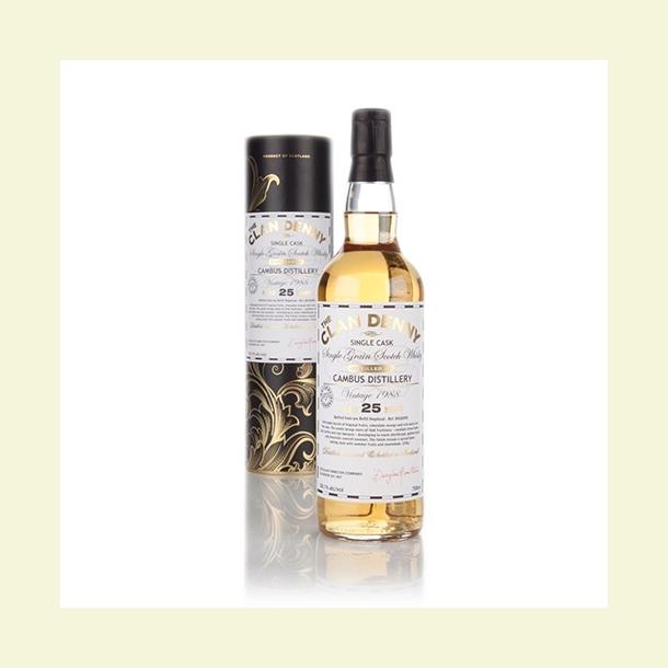 Cambus 1989 Clan Denny Grain Whisky 25 år