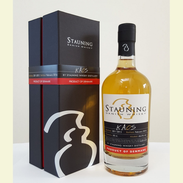 KAOS whisky fra Stauning februar 2016