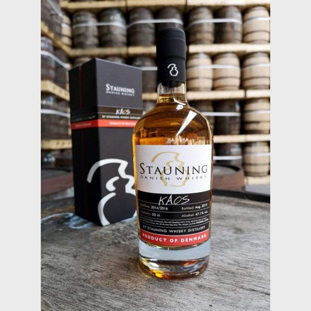Stauning whisky Kaos - August 2019